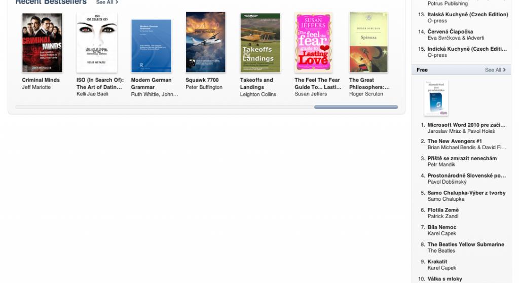 E-book Microsoft Word 2010 pre začiatočníkov od Allycom je číslo 1. v iTunes