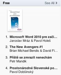 E-book Microsoft Word 2010 pre začiatočníkov je číslo 1. detail